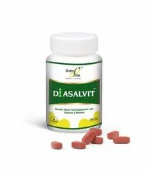 STONE AGE - DIASALVIT  Tablets for diabetic ( With Vitamins & Minerals)