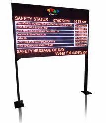 Safety Score Board