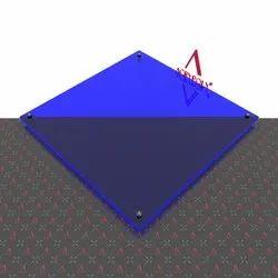 Blue Fluorescent Acrylic Sheet
