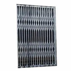 Side opening Stainless Steel Elevator Collapsible Door