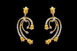 Diamond Bridal Earring