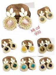 Ad Stone Earrings