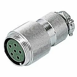 NCS Series Round Metal Connector (Plug/Adapter/Receptacle) (NCS-304-PM)