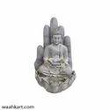 Grey Palm Buddha Fountain