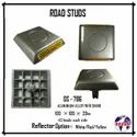 Aluminum Road Stud ( 43 Beads) with Nail / Shank