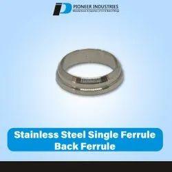 Stainless Steel Single Ferrule Back Ferrule