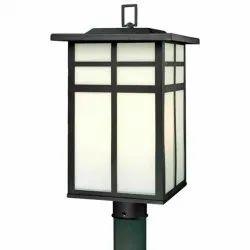 Ceramic Matador LED Garden Light Luminaire