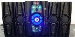 Your Brand Good Indian 4.1 Blue Lightning Home Theatre Speaker System, 1500 Wats, Size: Standard Big, Transformer