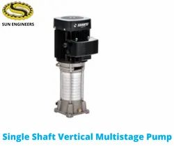 Cast Iron Three Phase Single Shaft Vertical Multistage Pump - Ro Series