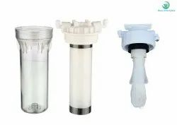 Microfiber White Washable Prefilter With UF Membrane Hollow Fiber 0.01 Micron, For Water Filter, Diameter: 12 Inch