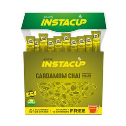 Atlantis InstaCup Instant Cardamom Tea Premix Single Serve Sachet Pack