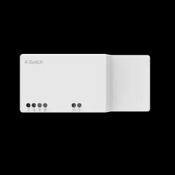Plastic 20 Amp Nexa 4 Switch, For Home, 240V