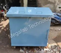 660 Litre Wheeled Garbage Container Dustbin