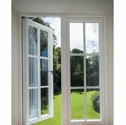 White UPVC French Door, For Home, Size/Dimension: 7 X 6 Ft