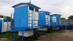 Mobile Portable Toilet Cabin