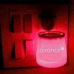Red Camphor Aroma Diffuser With Night Lamp