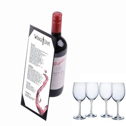 Menu Wine Folder