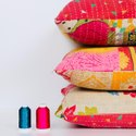 Vintage Gudari Cotton Cushion Cover Wholesaler