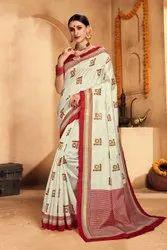 Woman Patola Silk Saree