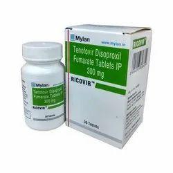 Tenofovir Disoproxil Fumarate Ip 300 Mg