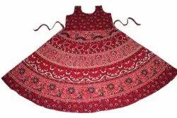 Jaipuri Cotton Midi Dress