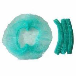 Green Disposable Surgeon Cap