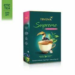 Tingwa- Supreme, Second- Flush, CTC Tea, 100gm Pack, Arunchal Pradesh, Granules