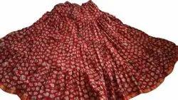Ladies Cotton Printed Skirt