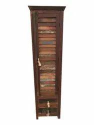 Single Door Wooden Almirah