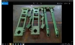 Metal Frame for tractor