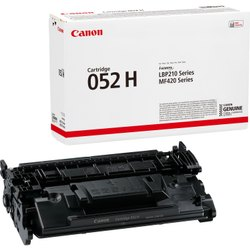 Canon 052H High Yield Black Toner Cartridge