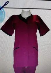 Female Nursing Uniform Half Sleeves PS-7