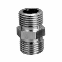 SS Threaded 2inch CP Hexagon Nipple, For Plumbing Pipe