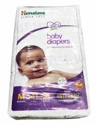 Nonwoven Disposable Himalaya Baby Diapers, Size: Medium, Age Group: 3-12 Months