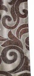 Printed Jute Sofa Fabric