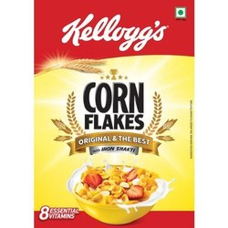 Chocolate Kelloggs Corn Flakes Original, Packaging Type: Box