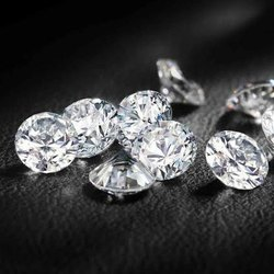 Green Moissanite Diamond