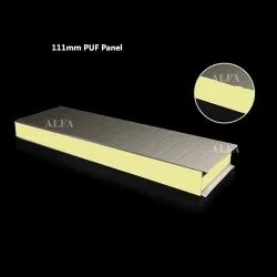 111mm PUF Insulated Roofing Panel