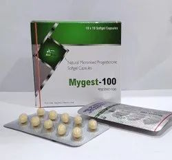 Natural Micronised progestrone 100mg Softgel