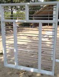 White 3.4inch Galvanized Iron Window Frame