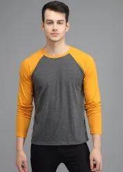 PockMAN Cotton Full Sleeve Mens Tshirt, Machine wash