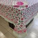 Hand block design printed cotton Table Cover