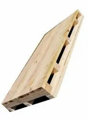 Rectangular 4 Way Industrial Plywood Pallet, Capacity: 1 Ton
