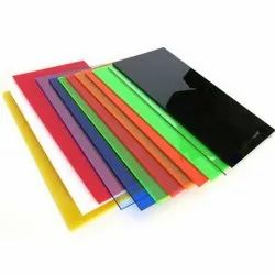 Extruded Coloured Acrylic Sheets