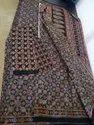 Pure Cotton Ajrak Print Sarees