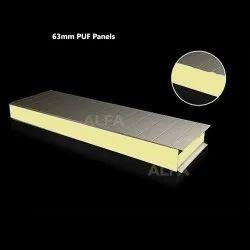 63mm Metal Prefabricated PUF Panels
