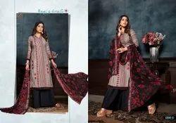 Bipson Gulmohar Pashmina Printed Dress Material