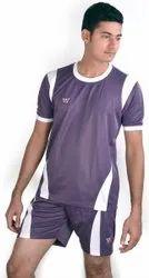 Purple Men Kabaddi SP Jersey Shorts Set