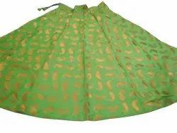 Jacquard Silk Skirt