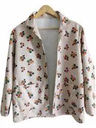 YSS Party Wear Women Cotton Blazer, Size: XL